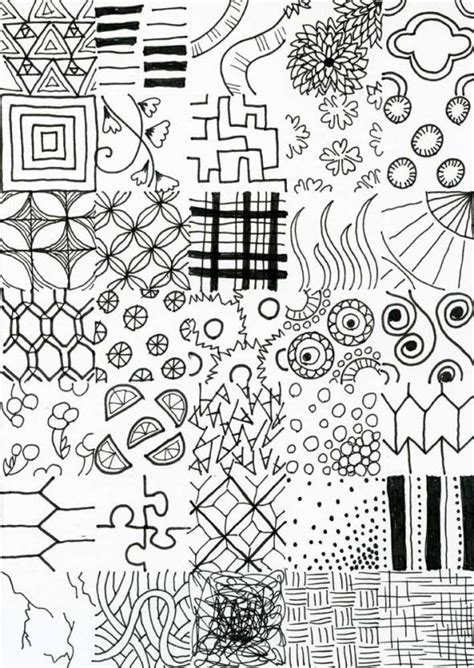 more doodle some line textures to give you more pattern ideas