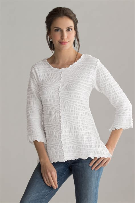 knitted tops fiore seamed top by carol turner knit top artful home