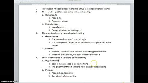 problem solution outline template environmental problems and solutions essay