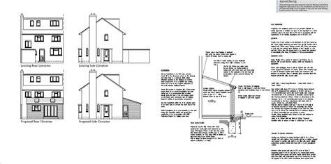 house extension plans exles house extension exle plans house plans