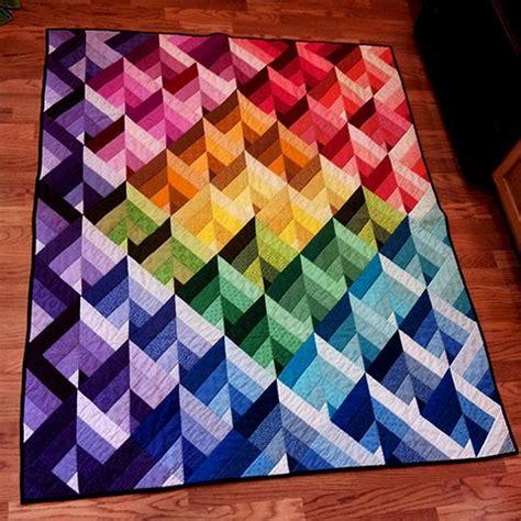 Patchwork Prism Quilt - prism quilt free pattern quilty quilts