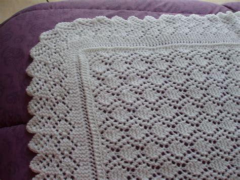 couverture chale pour b 233 b 233 blanche tricot