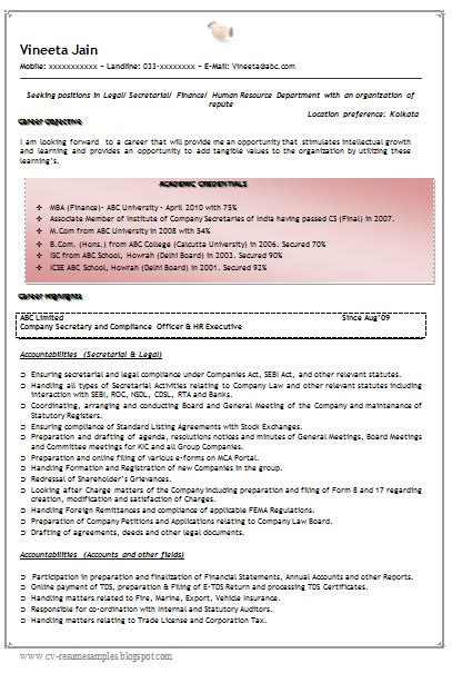 Mba Loans Uk by Mba Finance Resume Format For Experience Resume Template