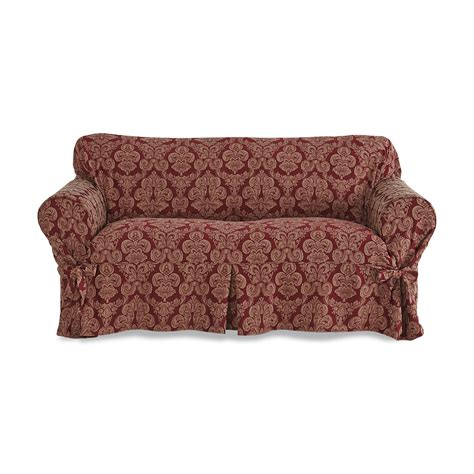 sure fit middleton floral print loveseat slipcover home