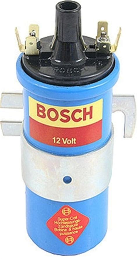bosch blue coil resistor 12v bosch blue coil with mounting bracket us version 00 012us aircooled net vw parts