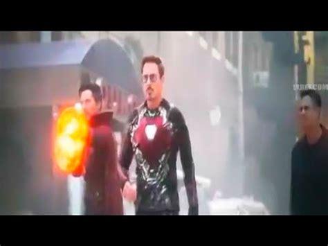 avengers infinity war iron man nano tech suit youtube