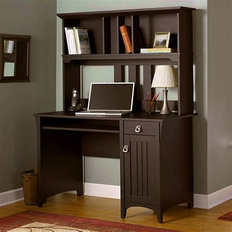 Mission Style Computer Desk With Hutch Mission Style Computer Desk With Hutch