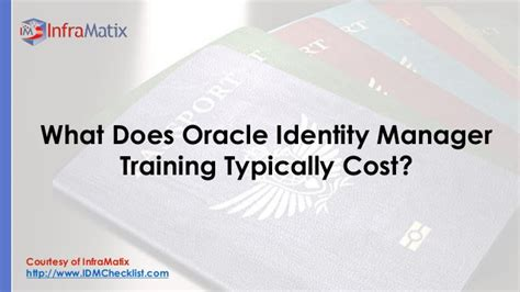 tutorial oracle identity manager what does oracle identity manager training typically cost