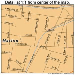 marion carolina map marion south carolina map 4544575