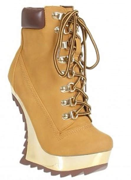 tim boots shoes timberlands wedges boots wheretoget