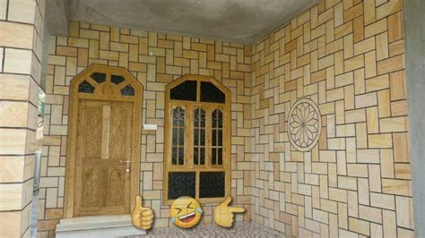 outstanding indian house exterior wall tiles design