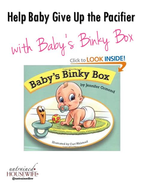 Is Giving Up Baby by Help Baby Give Up The Pacifier With Baby S Binky Box A