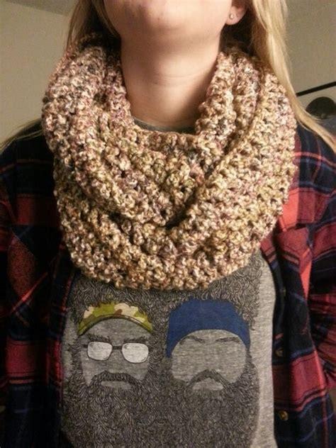 scarf pattern homespun yarn chunky infinity scarf lions brand homespun yarn color