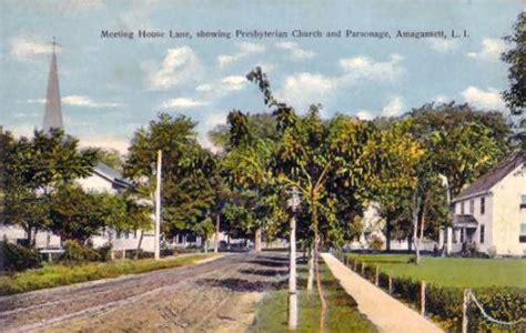 meeting house amagansett rhode island pictorial post cards meeting house lane amagansett long island ny