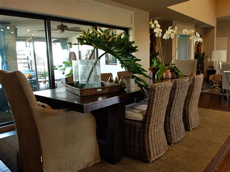 kanes furniture tropical dining room decorating ideas