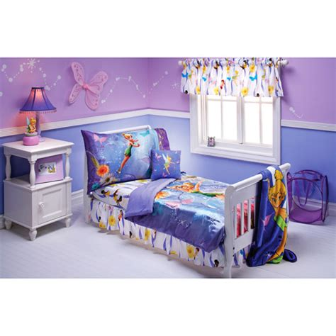 tinkerbell toddler bed set disney fairies tinker bell pixieland 10 piece bedding