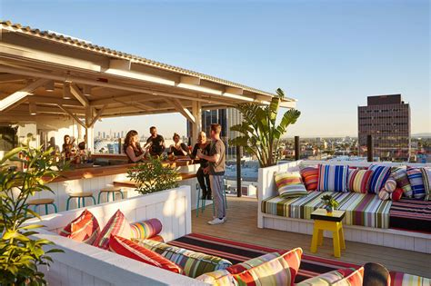 top rooftop bars in los angeles best rooftop bars for sweeping views of los angeles