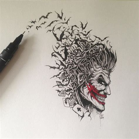 joker getting tattoo best 25 batman joker tattoo ideas on pinterest jared