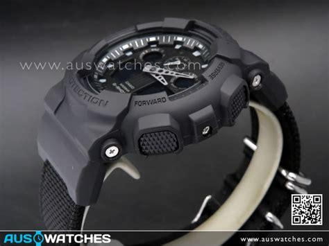 Casio G Shock Ga 100bbn 1adr Ga 100bbn 1a Dr Original Garansi buy casio g shock black cloth band sport ga 100bbn 1a ga100bbn buy watches