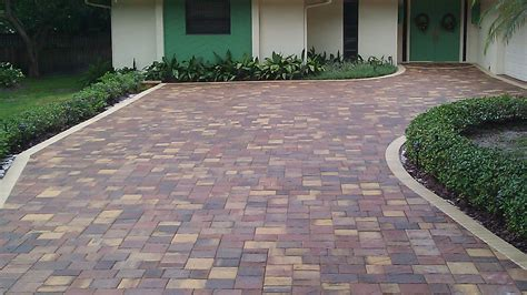 paver driveway sealing for travertine interlocking brick and concrete pavers