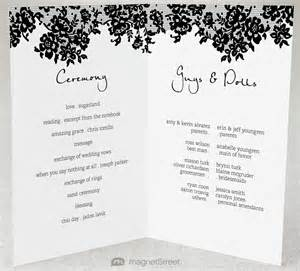 Program Fans For Wedding Ceremony 2 Modern Wedding Program And Templatestruly Engaging Wedding Blog