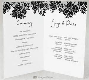 2 Modern Wedding Program and TemplatesTruly Engaging