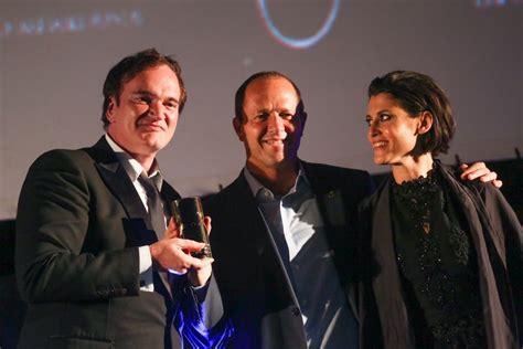 quentin tarantino film festival jerusalem film festival opens to jeers for miri regev