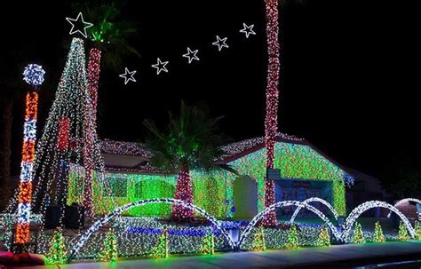 best christmas lights for the top of your house your complete guide to light displays and events in greater palm springs