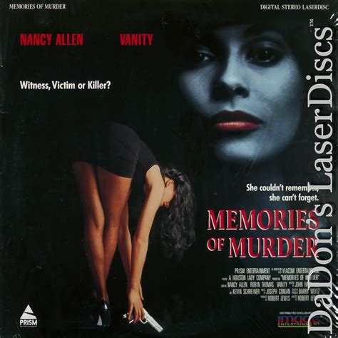 the murder of a the memories of a ten year books memories of murder laserdisc laserdiscs thriller