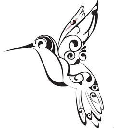 hummingbird tattoo simple tattoos pinterest tattoo