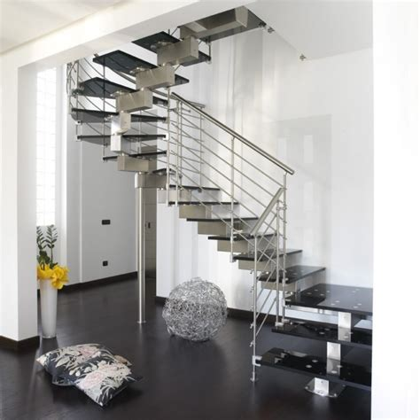 Stainless Steel Stairs Design Stainless Steel Horizontal Stair Railings Contemporary Staircase Miami By