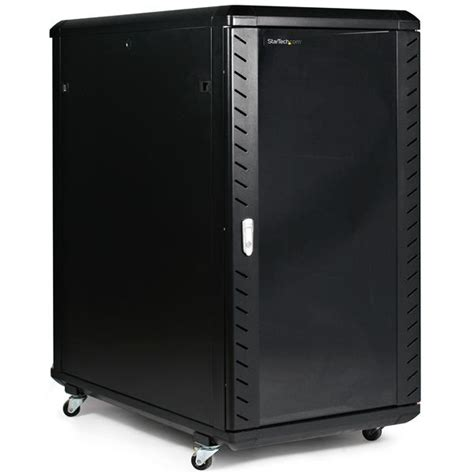 22u Server Rack Cabinet by Startech 22u 36in Knock Server Rack Cabinet With