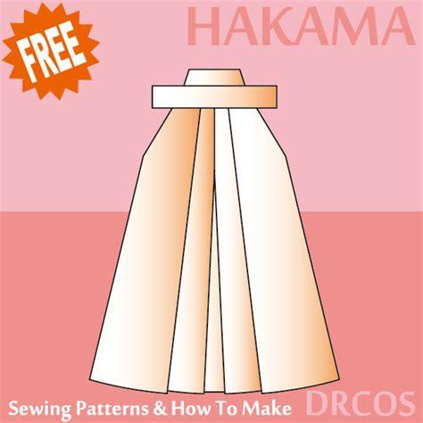 japanese hakama pattern hakama sewing patterns drcos patterns how to make