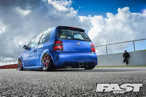volkswagen fast car modified vw lupo fast car