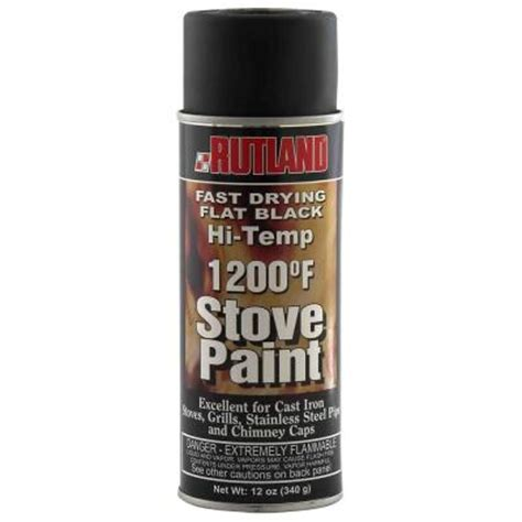 rutland 12 oz high temp stove paint 80 6 the home depot