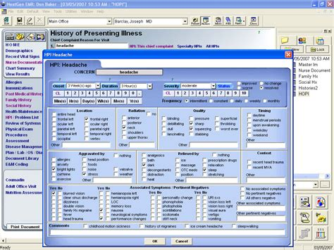 emr template emr review nextgen electronic record