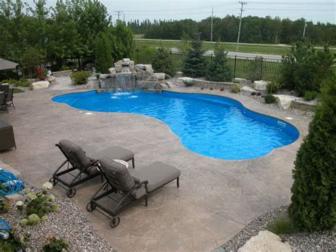 Patio And Pool Designs Backyard Pool And Patio Ideas