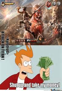 Funny Attack On Titan Memes - attack on titan 37 meme anime and otaku