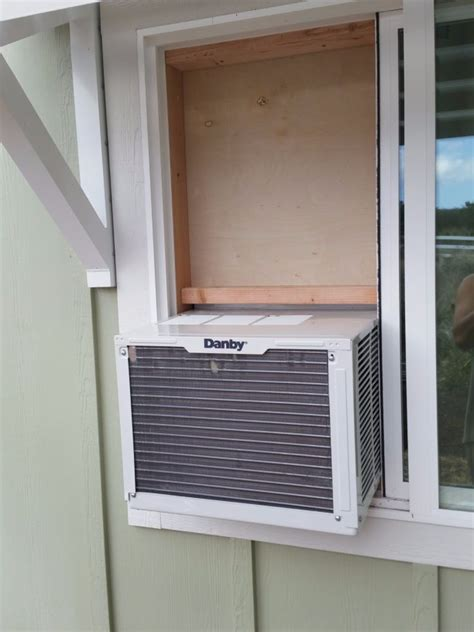 Window Unit For Sliding Windows Designs Mounting A Standard Air Conditioner In A Sliding Window From The Inside Without A Bracket 6