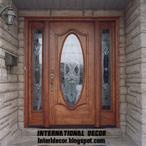 Door Design In Wood by Classic Wood Doors Designs Colors Wood Doors With Glass