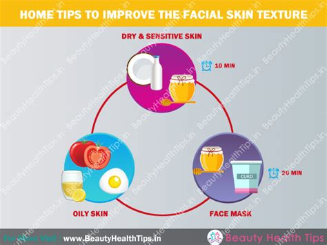 home care tips home tips to improve the facial skin texture beauty