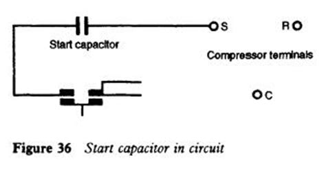 start up capacitor troubleshooting refrigerator current relay refrigerator troubleshooting diagram
