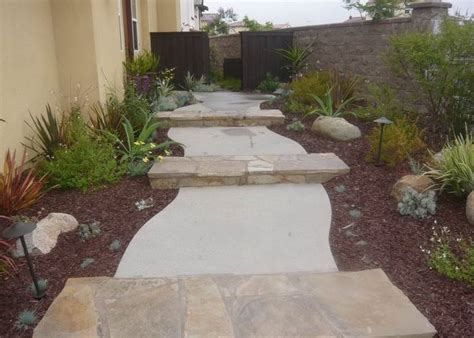 concrete walkway design landscaping network