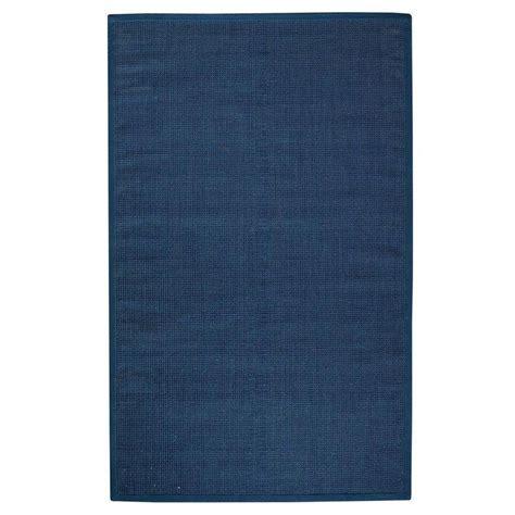 12 x 15 jute rug home decorators collection woolen jute indigo 12 ft x 15 ft area rug 0350635330 the home depot