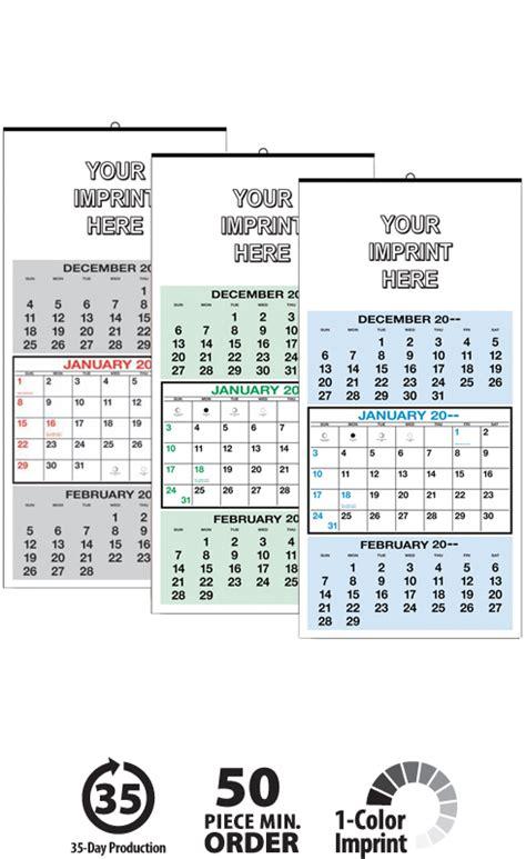 Calendar 3 Months At A Glance 2017 3 Months At A Glance Calendar 12 1 4 Quot X 25 1 4