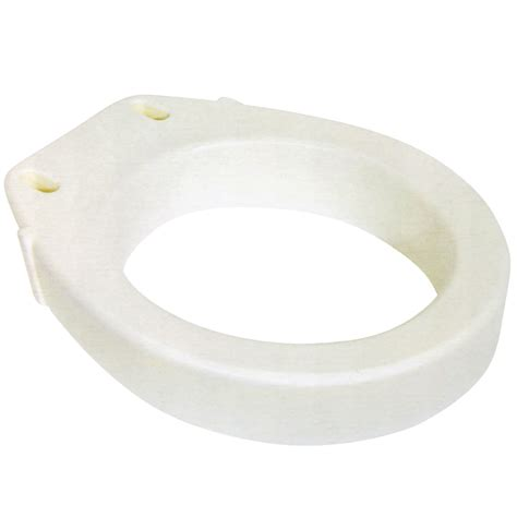 toilet seat risers 2 inch new elongated toilet seat riser easy installation