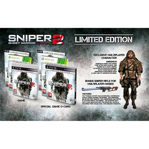 best sniper for ps3 playstation 3 sniper ghost warrior 2 limited