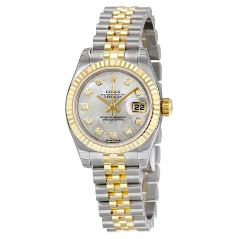 Rolex Watches Rolex Datejust 26 Of Pearl With 10