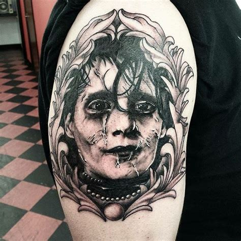awesome tim burton inspired tattoos that are perfect for