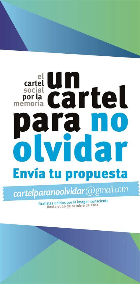 mas imagenes y carteles 161 convocatoria abierta cartel para no olvidar